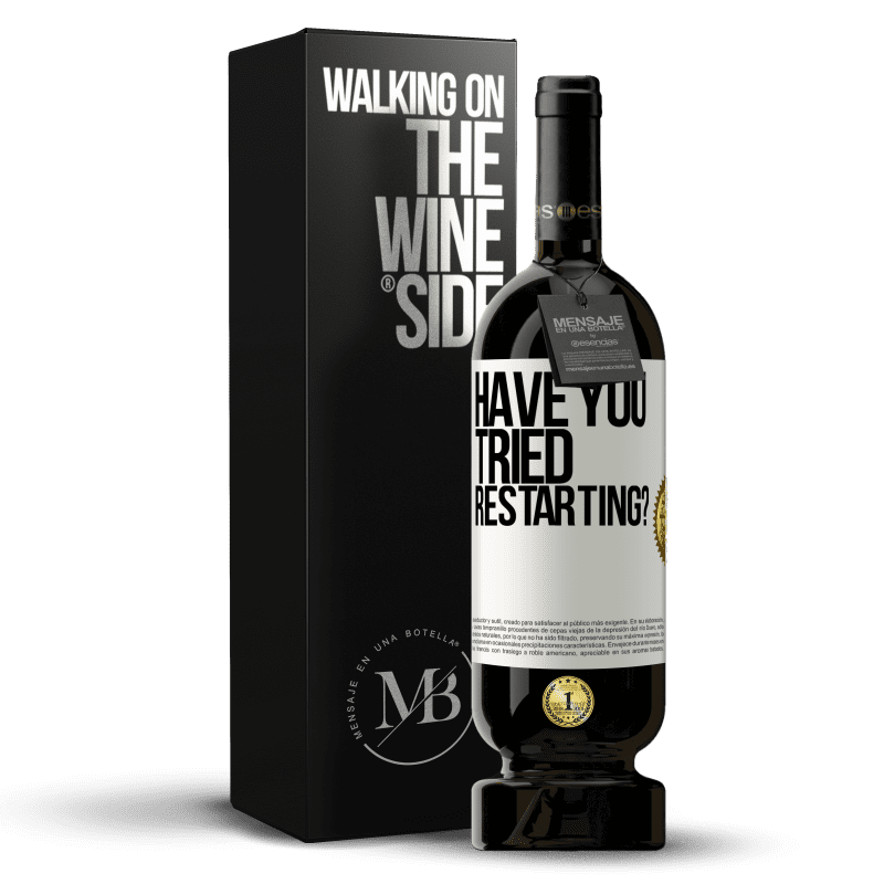 29,95 € Free Shipping   Red Wine Premium Edition MBS® Reserva have you tried restarting? White Label. Customizable label Reserva 12 Months Harvest 2013 Tempranillo
