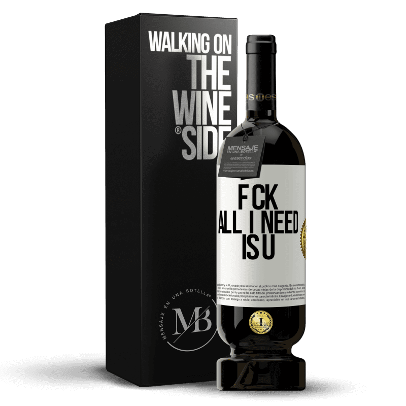 29,95 € Free Shipping | Red Wine Premium Edition MBS® Reserva F CK. All I need is U White Label. Customizable label Reserva 12 Months Harvest 2013 Tempranillo