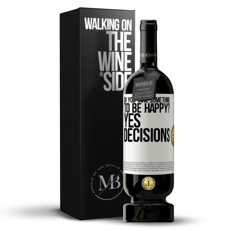 29,95 € Free Shipping | Red Wine Premium Edition MBS® Reserva do you take something to be happy? Yes, decisions White Label. Customizable label Reserva 12 Months Harvest 2013 Tempranillo