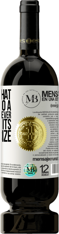 «The mind that opens up to a new idea will never return to its original size» Premium Edition MBS® Reserva