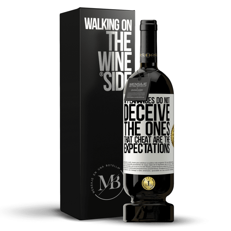 29,95 € Free Shipping | Red Wine Premium Edition MBS® Reserva Appearances do not deceive. The ones that cheat are the expectations White Label. Customizable label Reserva 12 Months Harvest 2013 Tempranillo