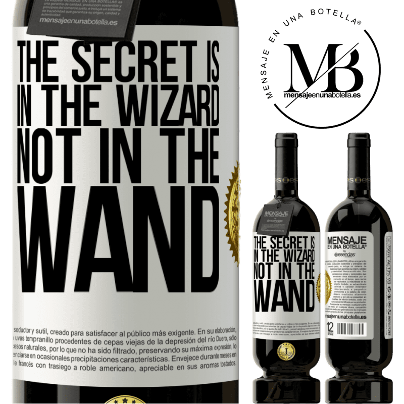 29,95 € Free Shipping | Red Wine Premium Edition MBS® Reserva The secret is in the wizard, not in the wand White Label. Customizable label Reserva 12 Months Harvest 2013 Tempranillo