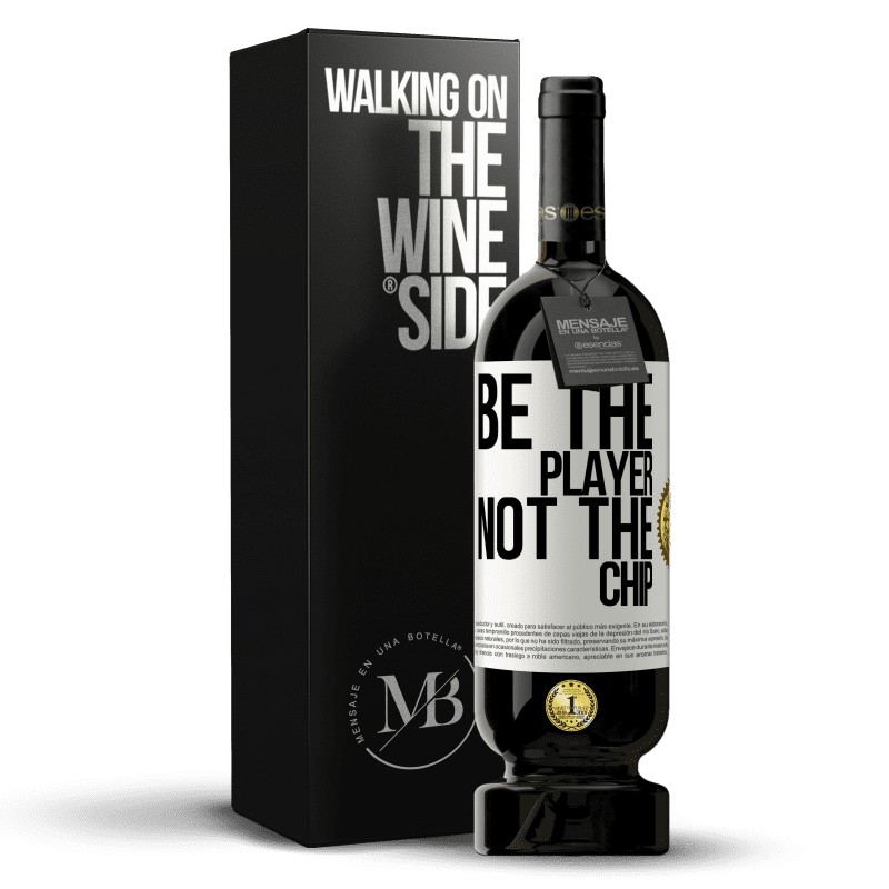29,95 € Free Shipping | Red Wine Premium Edition MBS® Reserva Be the player, not the chip White Label. Customizable label Reserva 12 Months Harvest 2013 Tempranillo
