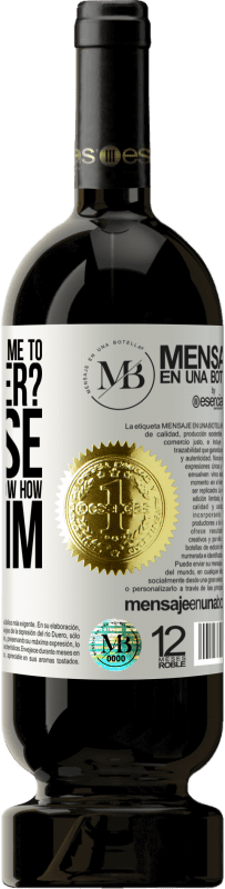 «why are you taking me to deep water? Because your enemies don't know how to swim» Premium Edition MBS® Reserva