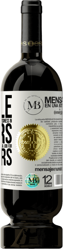 «People have no patience to build a business in 3 years. But he has patience to go to a job for 40 years» Premium Edition MBS® Reserva