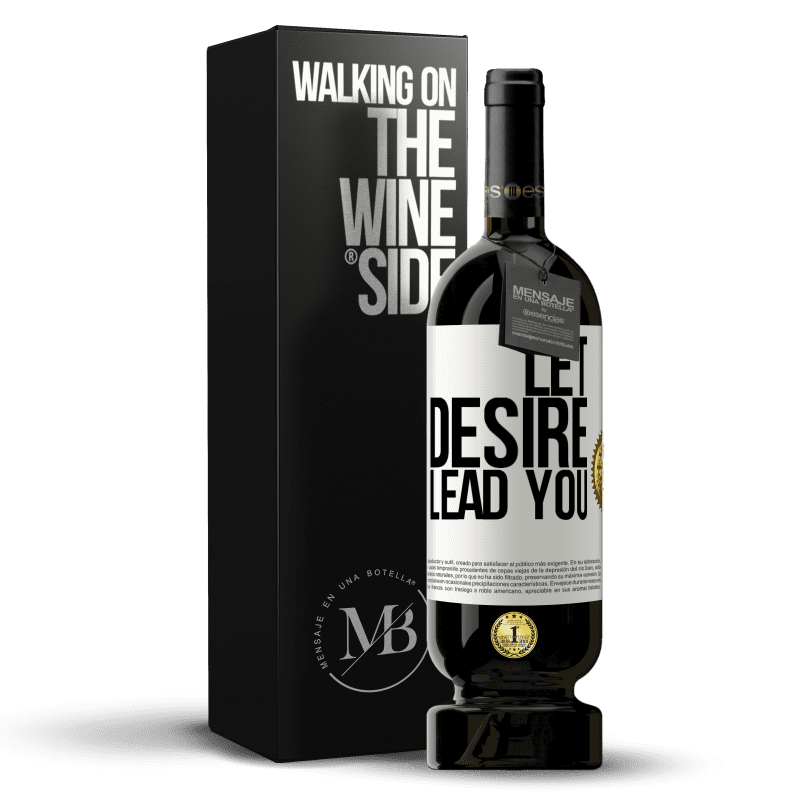 29,95 € Free Shipping | Red Wine Premium Edition MBS® Reserva Let desire lead you White Label. Customizable label Reserva 12 Months Harvest 2013 Tempranillo