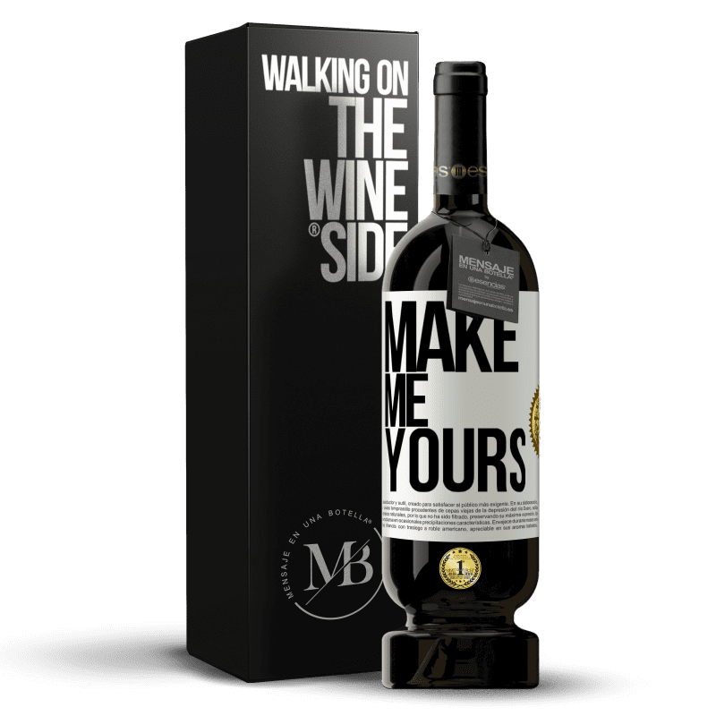 29,95 € Free Shipping | Red Wine Premium Edition MBS® Reserva Make me yours White Label. Customizable label Reserva 12 Months Harvest 2013 Tempranillo