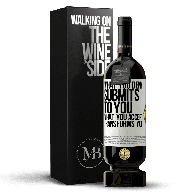 29,95 € Free Shipping | Red Wine Premium Edition MBS® Reserva What you deny submits to you. What you accept transforms you White Label. Customizable label Reserva 12 Months Harvest 2013 Tempranillo