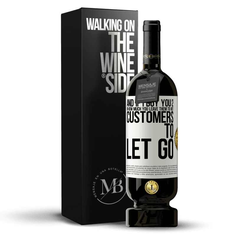 29,95 € Free Shipping | Red Wine Premium Edition MBS® Reserva and if I buy you 2 in how much you leave them to me? Customers to let go White Label. Customizable label Reserva 12 Months Harvest 2013 Tempranillo