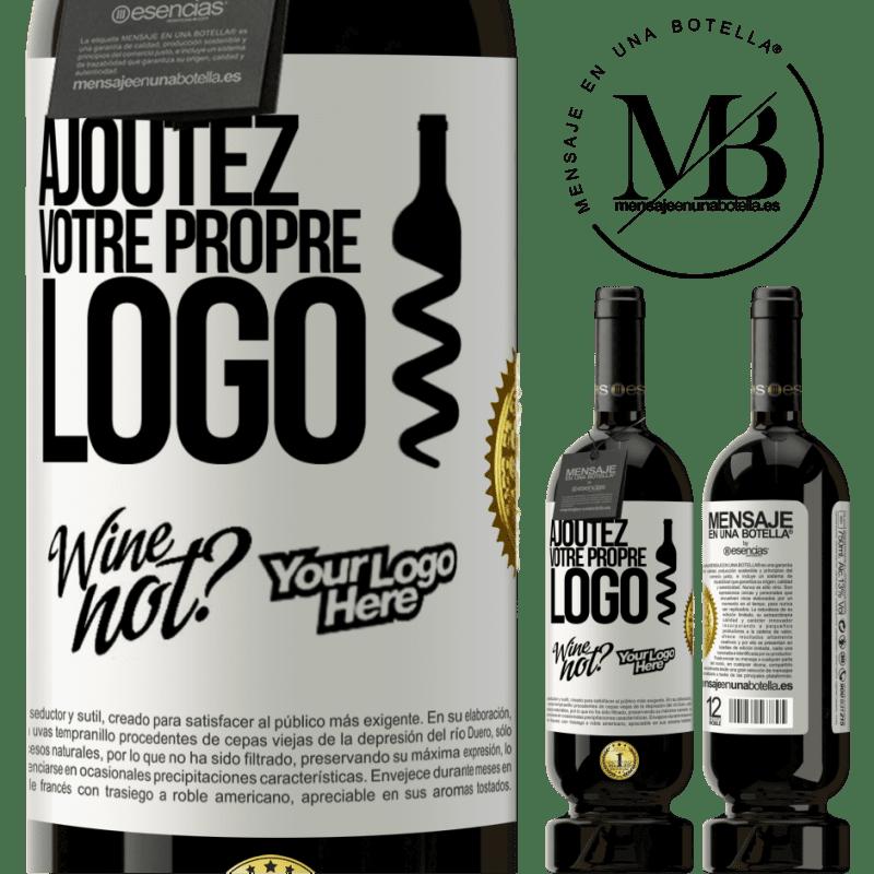 29,95 € Envoi gratuit | Vin rouge Édition Premium MBS® Reserva Ajoutez votre propre logo Étiquette Blanche. Étiquette personnalisable Reserva 12 Mois Récolte 2013 Tempranillo