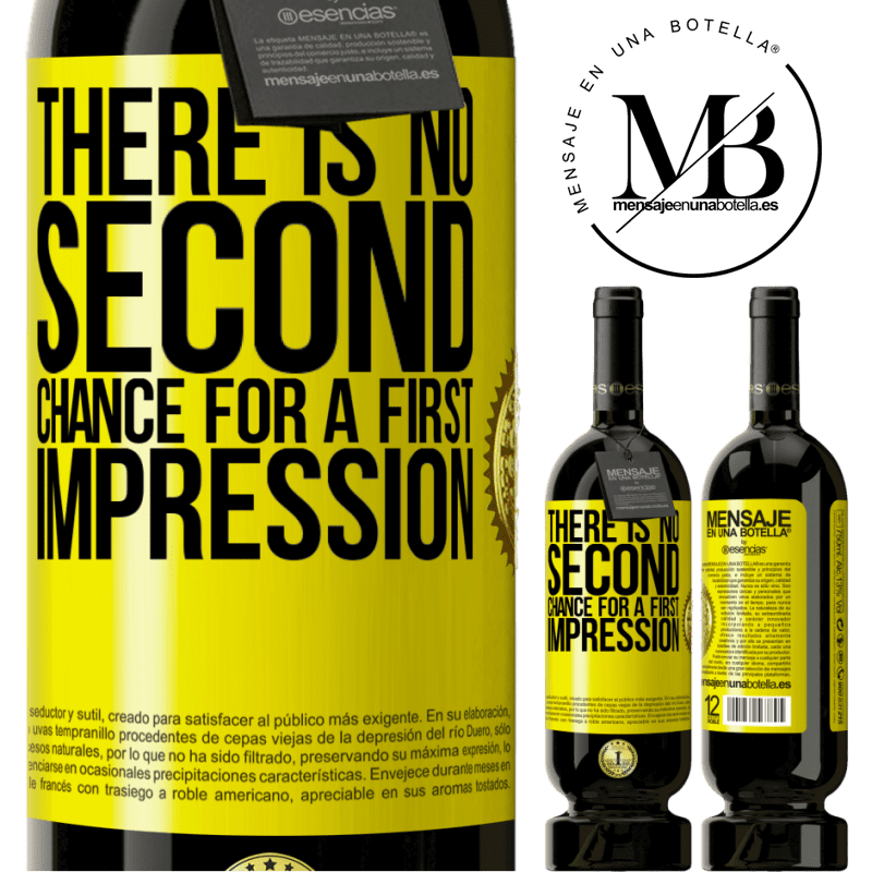 29,95 € Free Shipping   Red Wine Premium Edition MBS® Reserva There is no second chance for a first impression Yellow Label. Customizable label Reserva 12 Months Harvest 2013 Tempranillo