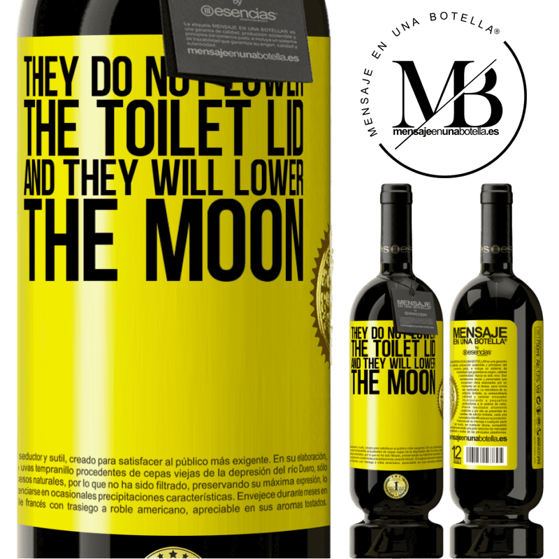 29,95 € Free Shipping | Red Wine Premium Edition MBS® Reserva They do not lower the toilet lid and they will lower the moon Yellow Label. Customizable label Reserva 12 Months Harvest 2013 Tempranillo