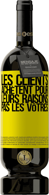 29,95 € Envoi gratuit   Vin rouge Édition Premium MBS® Reserva Les clients achètent pour leurs raisons, pas les vôtres Étiquette Jaune. Étiquette personnalisable Reserva 12 Mois Récolte 2013 Tempranillo