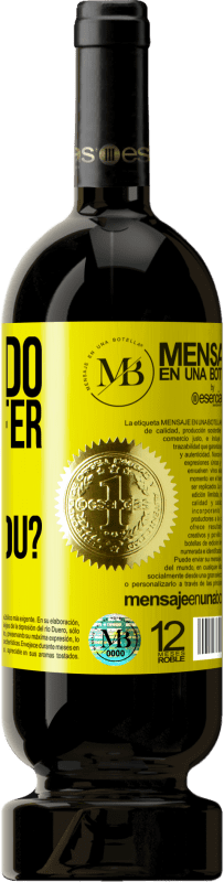 «which do you prefer, or who choose you?» Premium Edition MBS® Reserva
