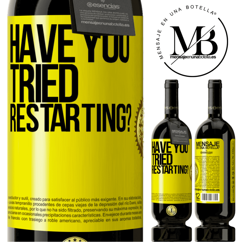 29,95 € Free Shipping   Red Wine Premium Edition MBS® Reserva have you tried restarting? Yellow Label. Customizable label Reserva 12 Months Harvest 2013 Tempranillo
