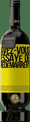 29,95 € Envoi gratuit | Vin rouge Édition Premium MBS® Reserva avez-vous essayé de redémarrer? Étiquette Jaune. Étiquette personnalisable Reserva 12 Mois Récolte 2013 Tempranillo
