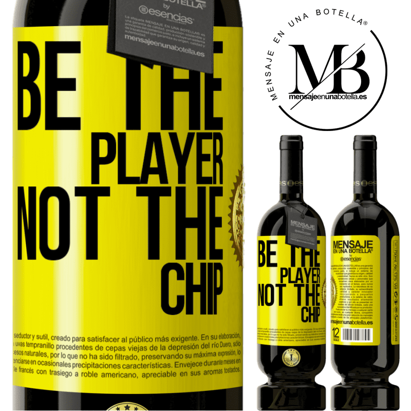 29,95 € Free Shipping | Red Wine Premium Edition MBS® Reserva Be the player, not the chip Yellow Label. Customizable label Reserva 12 Months Harvest 2013 Tempranillo