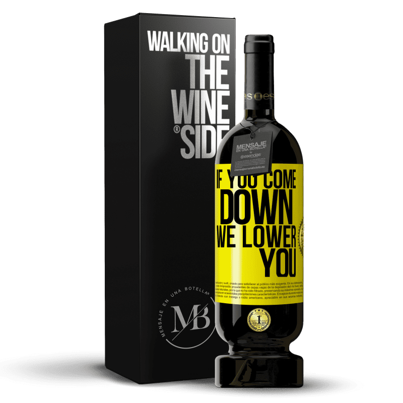 29,95 € Free Shipping | Red Wine Premium Edition MBS® Reserva If you come down, we lower you Yellow Label. Customizable label Reserva 12 Months Harvest 2013 Tempranillo