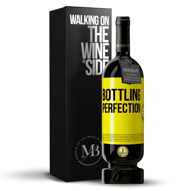 29,95 € Free Shipping | Red Wine Premium Edition MBS® Reserva Bottling perfection Yellow Label. Customizable label Reserva 12 Months Harvest 2013 Tempranillo