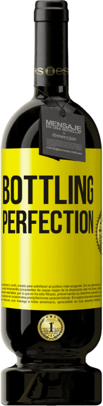 29,95 € Envío gratis | Vino Tinto Edición Premium MBS® Reserva Bottling perfection Etiqueta Amarilla. Etiqueta personalizable Reserva 12 Meses Cosecha 2013 Tempranillo