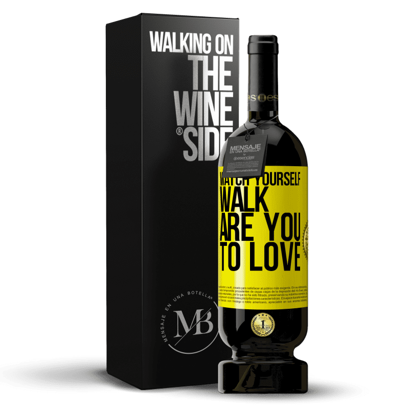 29,95 € Free Shipping   Red Wine Premium Edition MBS® Reserva Watch yourself walk. Are you to love Yellow Label. Customizable label Reserva 12 Months Harvest 2013 Tempranillo
