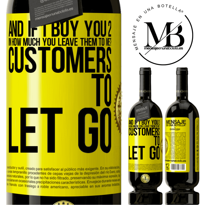29,95 € Free Shipping | Red Wine Premium Edition MBS® Reserva and if I buy you 2 in how much you leave them to me? Customers to let go Yellow Label. Customizable label Reserva 12 Months Harvest 2013 Tempranillo