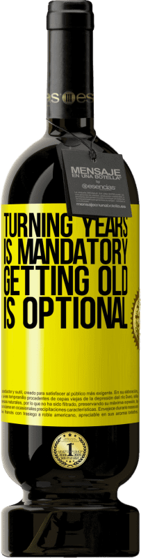 29,95 €   Red Wine Premium Edition MBS Reserva Turning years is mandatory, getting old is optional Yellow Label. Customizable label I.G.P. Vino de la Tierra de Castilla y León Aging in oak barrels 12 Months Harvest 2016 Spain Tempranillo
