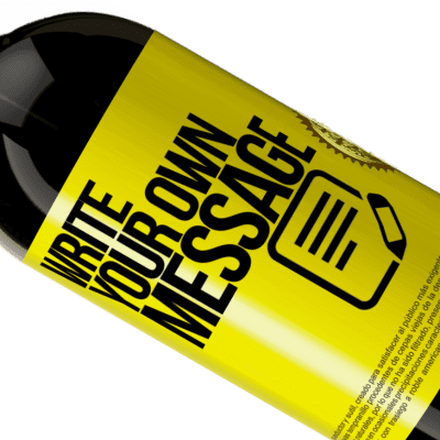 Customizable label MESSAGE IN A BOTTLE®