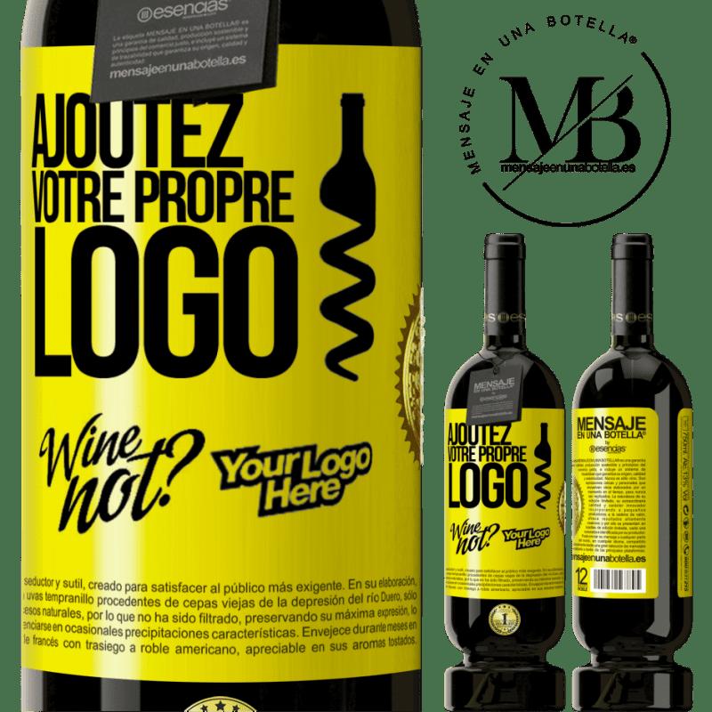 29,95 € Envoi gratuit | Vin rouge Édition Premium MBS® Reserva Ajoutez votre propre logo Étiquette Jaune. Étiquette personnalisable Reserva 12 Mois Récolte 2013 Tempranillo