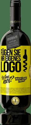 29,95 € Kostenloser Versand   Rotwein Premium Edition MBS® Reserva Fügen Sie Ihr eigenes Logo Gelbes Etikett. Anpassbares Etikett Reserva 12 Monate Ernte 2013 Tempranillo