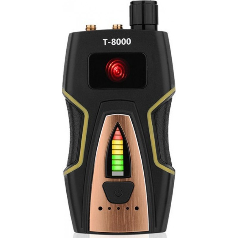 89,95 € Free Shipping | Signal Detectors Radio frequency anti-spy detector. Hidden camera detector. GSM listening function. Radar and Radio Scanner. Wireless signal find