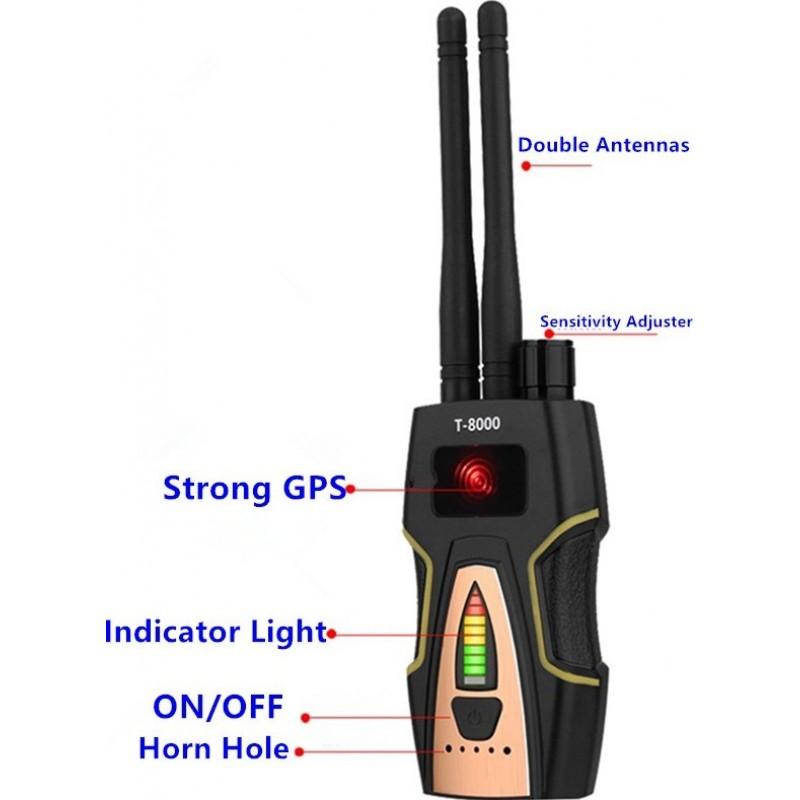 89,95 € Envoi gratuit | Détecteurs de Signal Détecteur anti-espion radiofréquence. Détecteur de caméra cachée. Fonction d'écoute GSM. Radar et scanner radio. Recherche de si