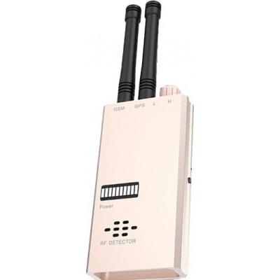 135,95 € 免费送货 | 信号探测器 无线反间谍探测器。 GSM取景器。射频检测器。微波检测。报警功能