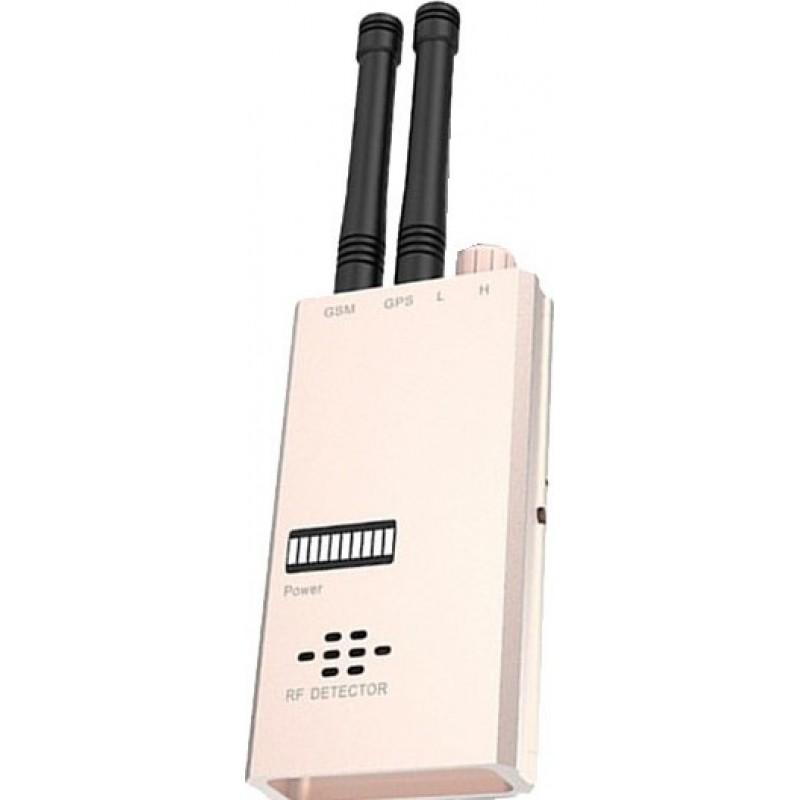 135,95 € Kostenloser Versand | Signalmelder Drahtloser Anti-Spion-Detektor. GSM-Finder. Funkfrequenzdetektor. Mikrowellenerkennung. Alarmfunktion