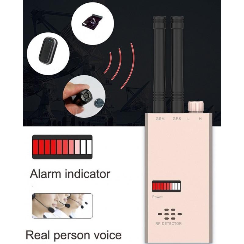 135,95 € Envoi gratuit | Détecteurs de Signal Détecteur anti-espion sans fil. GSM finder. Détecteur de fréquence radio. Détection de micro-ondes. Fonction d'alarme