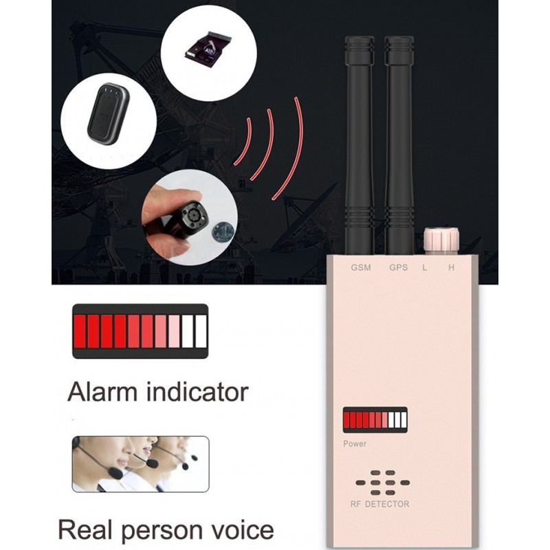 135,95 € Free Shipping   Signal Detectors Wireless anti-spy detector. GSM finder. Radio frequency detector. Micro wave detection. Alarm function