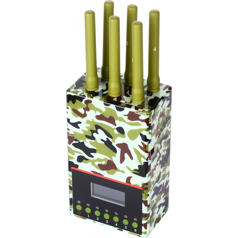 202,95 € Free Shipping | Cell Phone Jammers Army quality signal blocker Cell phone GSM