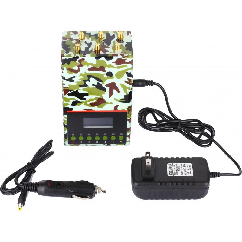 202,95 € Envoi gratuit | Bloqueurs de Téléphones Mobiles Bloqueur de signal portable de qualité armée Portable