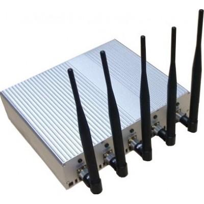 Portable outdoor signal blocker