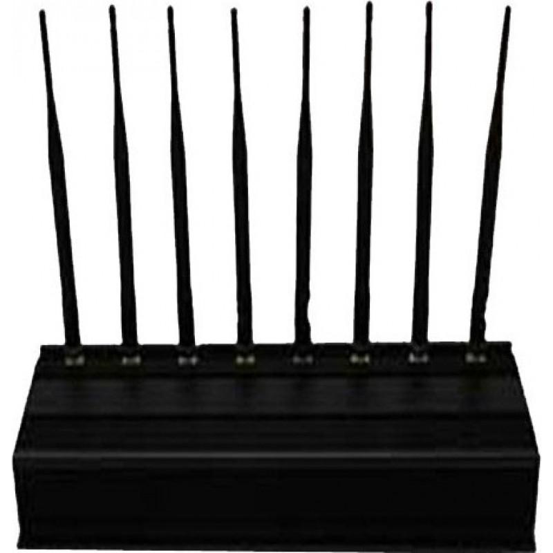 259,95 € 免费送货   手机干扰器 8个天线。全频带室外信号阻断器