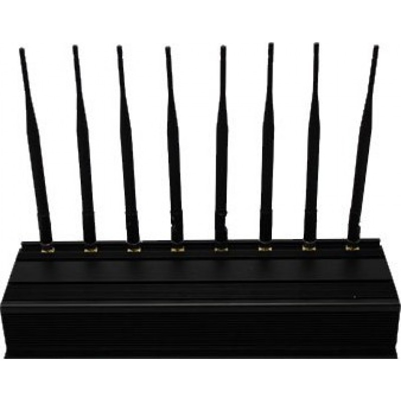 259,95 € Free Shipping | Cell Phone Jammers 8 Antennas. Full-Band outdoor signal blocker