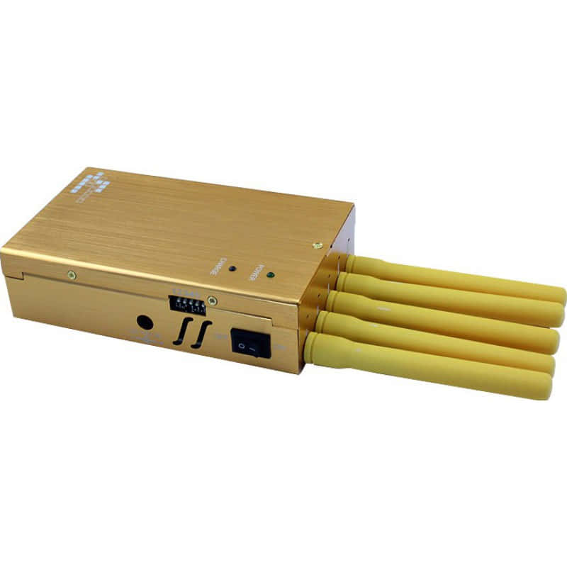 Handy-Störsender Tragbarer Signalblocker. 5 Antennen Portable