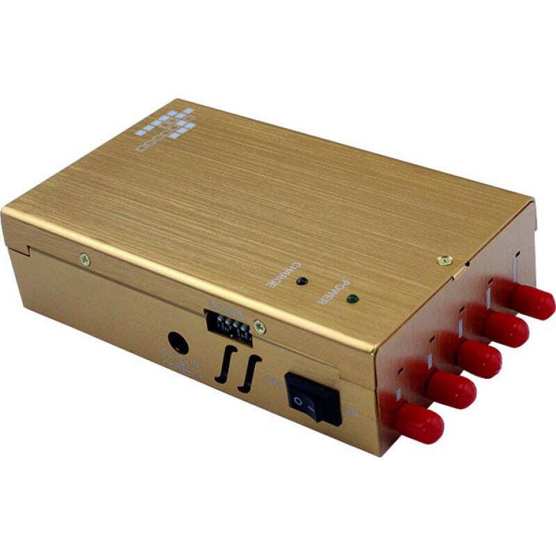 Bloqueurs de Téléphones Mobiles Bloqueur de signal portable. 5 antennes Portable