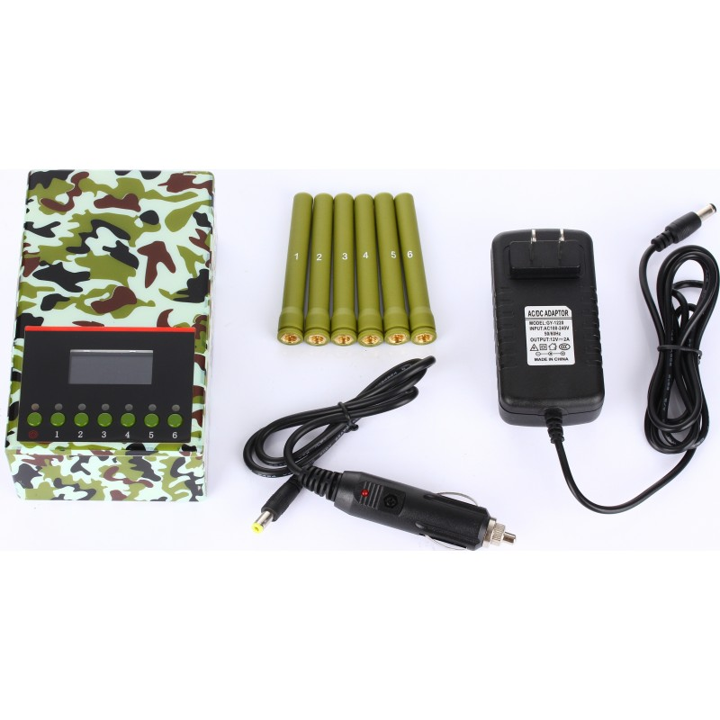 202,95 € Free Shipping | Cell Phone Jammers Army quality portable signal blocker Portable