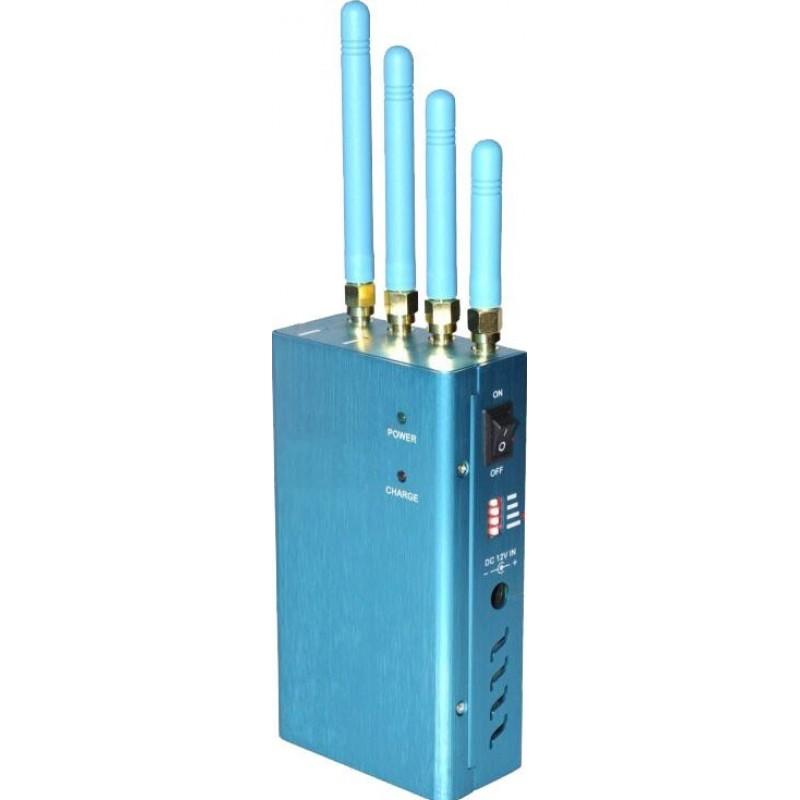 118,95 € 免费送货 | GPS干扰器 便携式大功率手持信号阻断器。全球网络 GPS L1 Handheld