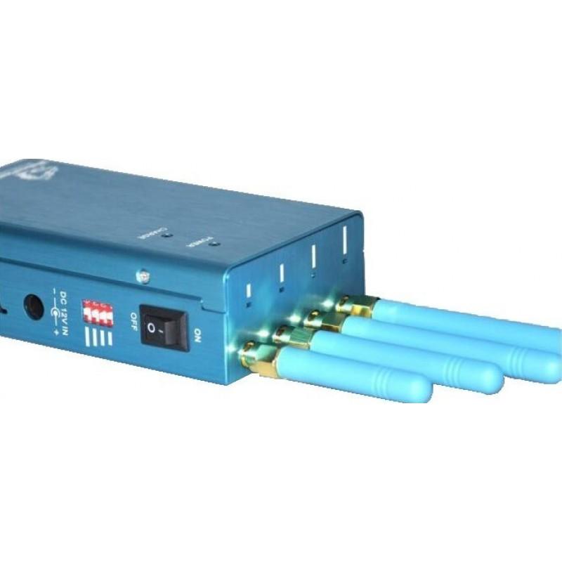118,95 € Kostenloser Versand | GPS-Störsender Mobiler Hochleistungs-Handheld-Signalblocker. Alle weltweiten Netzwerke GPS L1 Handheld