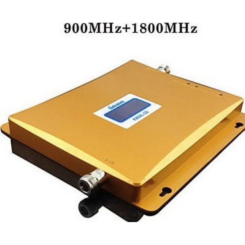 154,95 € Free Shipping | Signal Boosters Dual band cell phone signal booster. Amplifier kit GSM