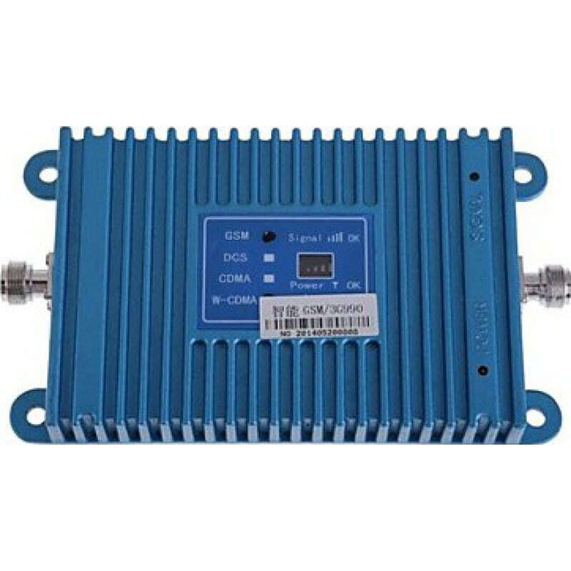 Усилители Двухдиапазонный усилитель сигнала сотового телефона. Усилитель и комплект антенн. ЖК дисплей GSM