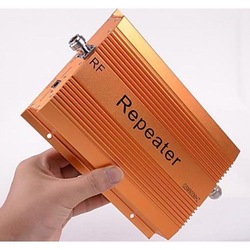 73,95 € Бесплатная доставка | Усилители усилитель сигнала сотового телефона с высоким коэффициентом усиления 70 дБ. Комплект повторителя и усилителя GSM 2000m2