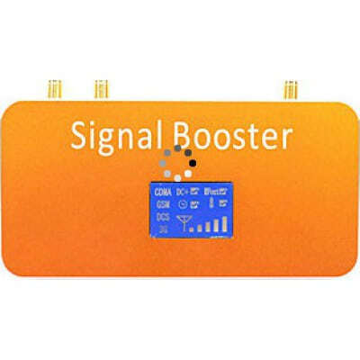 Mobile phone signal booster. LCD Display